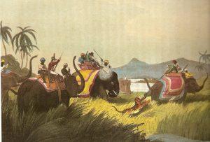 Elephant-back Tiger Hunt (Public Domain)