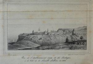 Fort Ross Cote de la Nouvelle Albion in 1828 PD