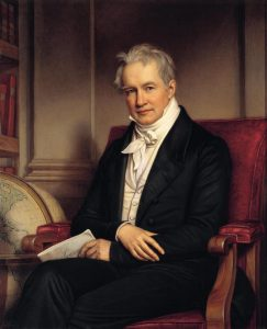 Alexander von Humboldt portrait by Joseph Karl Stieler (PD).