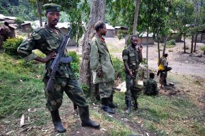 M23 troops, Bunagana 4. Source: Al Jazeera English 7 July, 2012. (CCA-SA2.0)