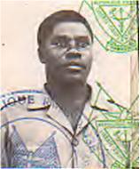 Sylvestre Mudacumura alleged passport photo