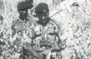 Zimbabwe's red beret paratroopers, implicated in wildlife poaching. Photo: EIA - A System of Extinction